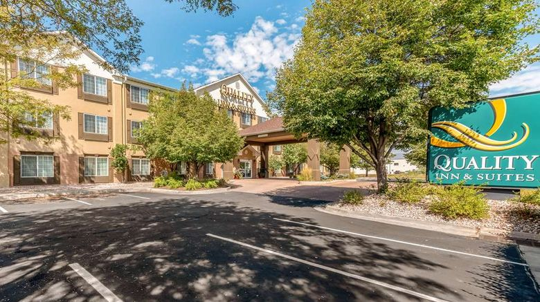 """Quality Inn  and  Suites University Exterior. Images powered by <a href=""""http://web.iceportal.com"""" target=""""_blank"""" rel=""""noopener"""">Ice Portal</a>."""