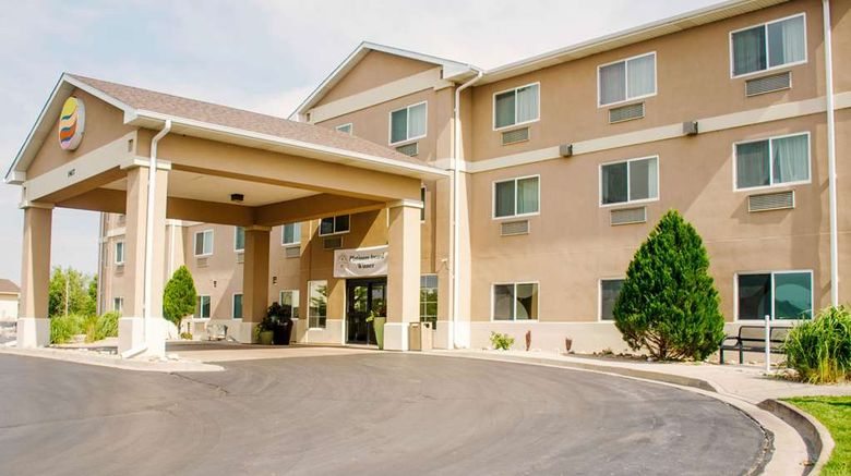 """Comfort Inn Fort Morgan Exterior. Images powered by <a href=""""http://web.iceportal.com"""" target=""""_blank"""" rel=""""noopener"""">Ice Portal</a>."""