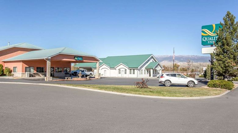 """Quality Inn Delta Exterior. Images powered by <a href=""""http://web.iceportal.com"""" target=""""_blank"""" rel=""""noopener"""">Ice Portal</a>."""