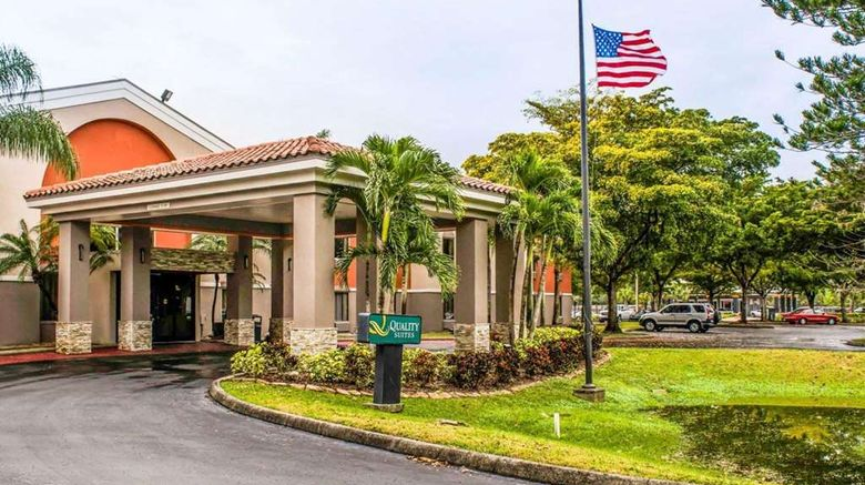 """Quality Suites Fort Myers I-75 Exterior. Images powered by <a href=""""http://web.iceportal.com"""" target=""""_blank"""" rel=""""noopener"""">Ice Portal</a>."""