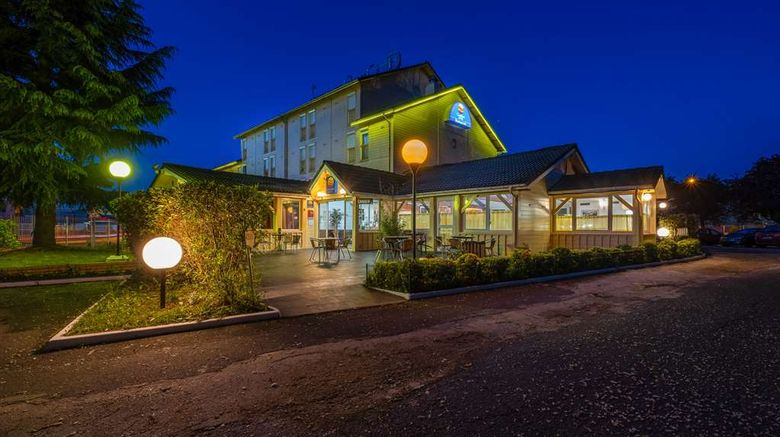 """Comfort Hotel CDG Goussainville Hotel Exterior. Images powered by <a href=""""http://web.iceportal.com"""" target=""""_blank"""" rel=""""noopener"""">Ice Portal</a>."""