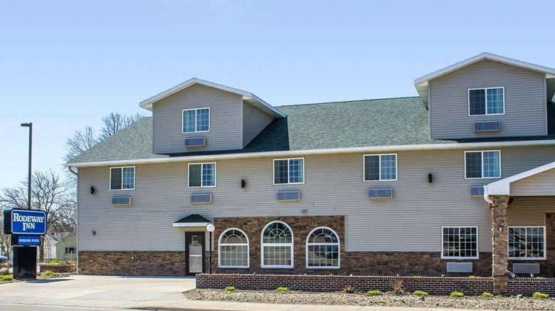 """Rodeway Inn near Okoboji Lake Exterior. Images powered by <a href=""""http://web.iceportal.com"""" target=""""_blank"""" rel=""""noopener"""">Ice Portal</a>."""