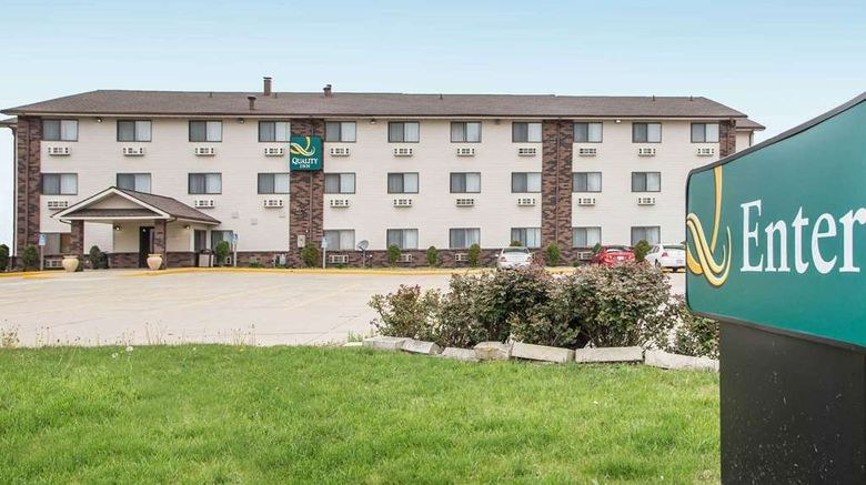 """Quality Inn  and  Suites Bloomington Normal Exterior. Images powered by <a href=""""http://web.iceportal.com"""" target=""""_blank"""" rel=""""noopener"""">Ice Portal</a>."""