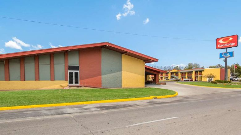 """Econo Lodge Evansville Exterior. Images powered by <a href=""""http://web.iceportal.com"""" target=""""_blank"""" rel=""""noopener"""">Ice Portal</a>."""