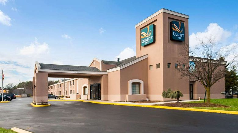 """Quality Inn Grasonville Exterior. Images powered by <a href=""""http://web.iceportal.com"""" target=""""_blank"""" rel=""""noopener"""">Ice Portal</a>."""