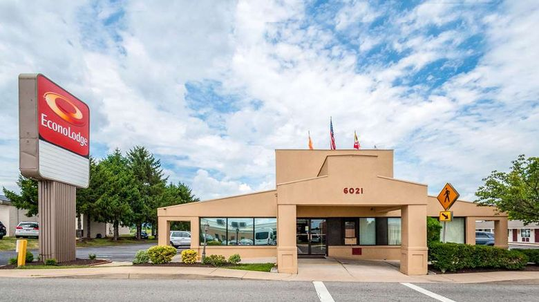 """Econo Lodge Frederick I-70 Exterior. Images powered by <a href=""""http://web.iceportal.com"""" target=""""_blank"""" rel=""""noopener"""">Ice Portal</a>."""