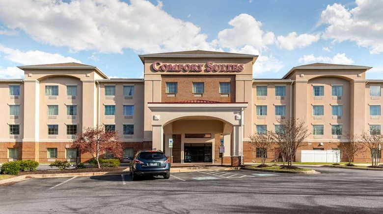 """Comfort Suites Columbia Gateway Exterior. Images powered by <a href=""""http://web.iceportal.com"""" target=""""_blank"""" rel=""""noopener"""">Ice Portal</a>."""