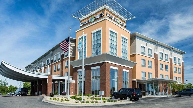 """Cambria hotel  and  suites Maple Grove MN Exterior. Images powered by <a href=""""http://web.iceportal.com"""" target=""""_blank"""" rel=""""noopener"""">Ice Portal</a>."""