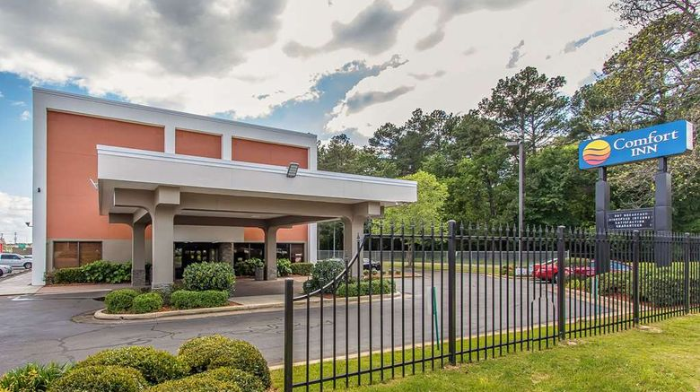 """Comfort Inn Jackson North Exterior. Images powered by <a href=""""http://web.iceportal.com"""" target=""""_blank"""" rel=""""noopener"""">Ice Portal</a>."""