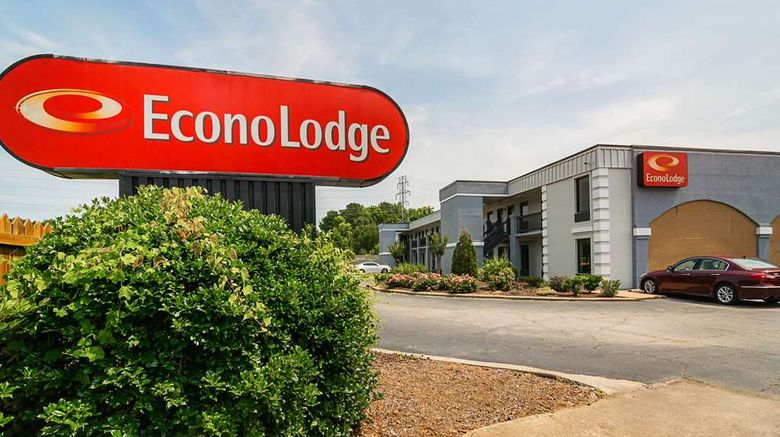 """Econo Lodge Research Triangle Exterior. Images powered by <a href=""""http://web.iceportal.com"""" target=""""_blank"""" rel=""""noopener"""">Ice Portal</a>."""