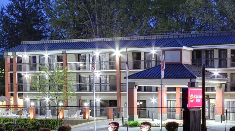 """Clarion Inn Biltmore Village Exterior. Images powered by <a href=""""http://web.iceportal.com"""" target=""""_blank"""" rel=""""noopener"""">Ice Portal</a>."""
