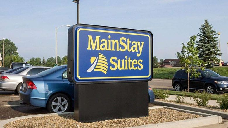 """Mainstay Suites Bismarck Exterior. Images powered by <a href=""""http://web.iceportal.com"""" target=""""_blank"""" rel=""""noopener"""">Ice Portal</a>."""