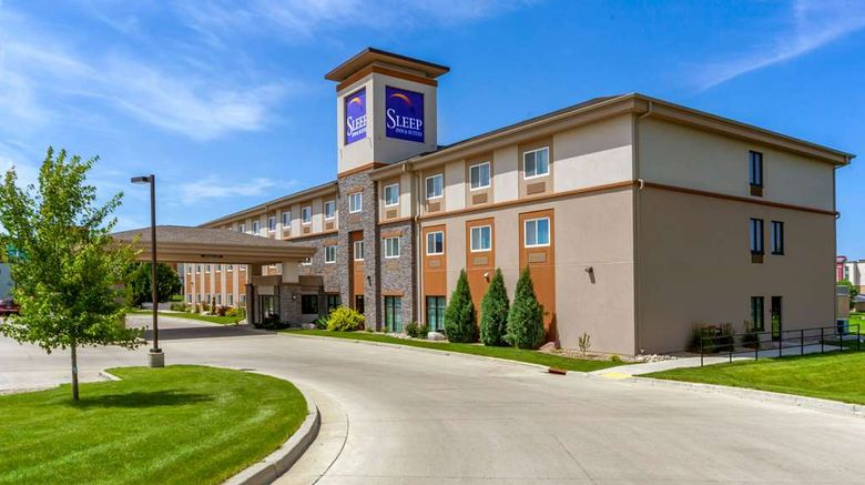 """Sleep Inn  and  Suites, Bismarck Exterior. Images powered by <a href=""""http://web.iceportal.com"""" target=""""_blank"""" rel=""""noopener"""">Ice Portal</a>."""