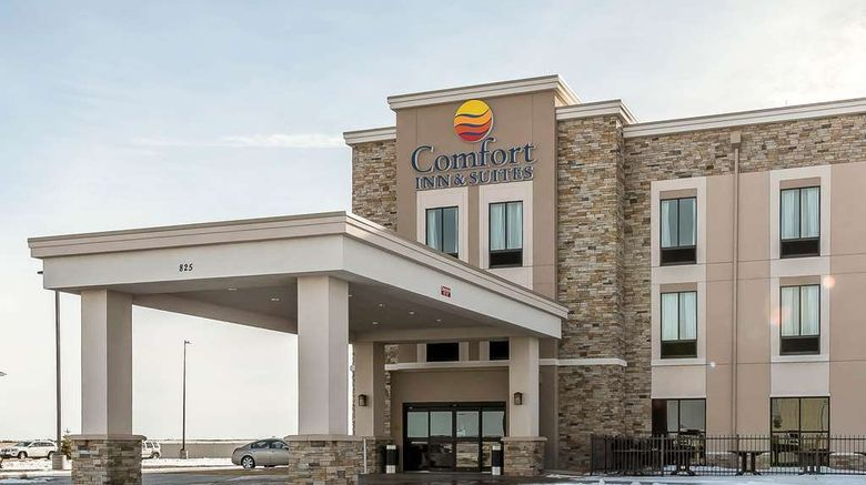 """Comfort Inn  and  Suites Sidney Exterior. Images powered by <a href=""""http://web.iceportal.com"""" target=""""_blank"""" rel=""""noopener"""">Ice Portal</a>."""
