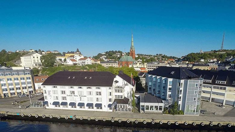 """Clarion Tyholmen Hotel Exterior. Images powered by <a href=""""http://web.iceportal.com"""" target=""""_blank"""" rel=""""noopener"""">Ice Portal</a>."""