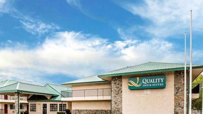 """Quality Inn  and  Suites Minden Exterior. Images powered by <a href=""""http://web.iceportal.com"""" target=""""_blank"""" rel=""""noopener"""">Ice Portal</a>."""