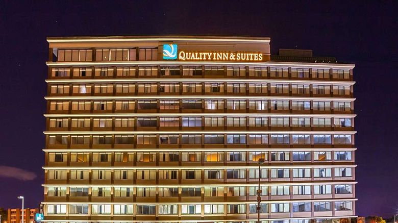"""Quality Inn  and  Suites Cincinnati Exterior. Images powered by <a href=""""http://web.iceportal.com"""" target=""""_blank"""" rel=""""noopener"""">Ice Portal</a>."""