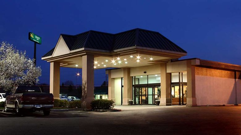 """Quality Inn and Conference Center Exterior. Images powered by <a href=""""http://web.iceportal.com"""" target=""""_blank"""" rel=""""noopener"""">Ice Portal</a>."""