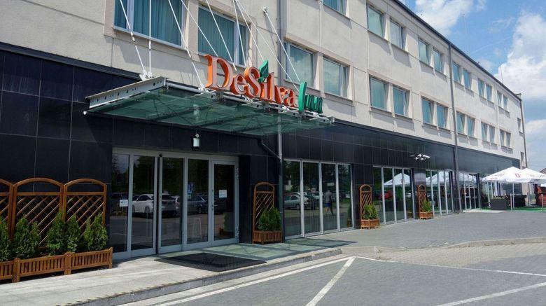 "Hotel DeSilva Inn Katowice Airport Exterior. Images powered by <a href=""http://www.leonardo.com"" target=""_blank"" rel=""noopener"">Leonardo</a>."