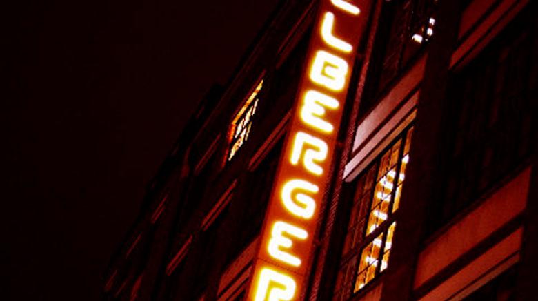 "Michelberger Hotel Exterior. Images powered by <a href=""http://www.leonardo.com"" target=""_blank"" rel=""noopener"">Leonardo</a>."