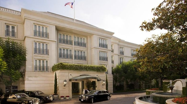 "The Peninsula Beverly Hills Exterior. Images powered by <a href=""http://www.leonardo.com"" target=""_blank"" rel=""noopener"">Leonardo</a>."