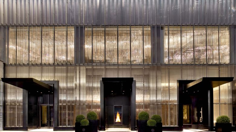 """Baccarat Hotel  and  Residences Exterior. Images powered by <a href=""""http://www.leonardo.com"""" target=""""_blank"""" rel=""""noopener"""">Leonardo</a>."""