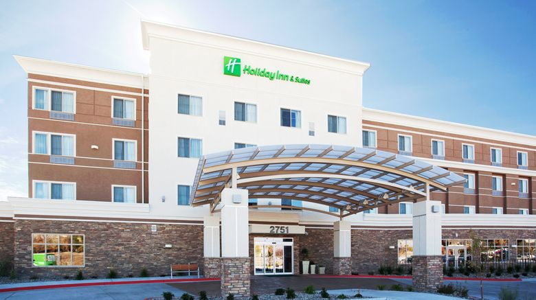 """Holiday Inn Hotel  and  Suites GJ Airport Exterior. Images powered by <a href=""""http://www.leonardo.com"""" target=""""_blank"""" rel=""""noopener"""">Leonardo</a>."""