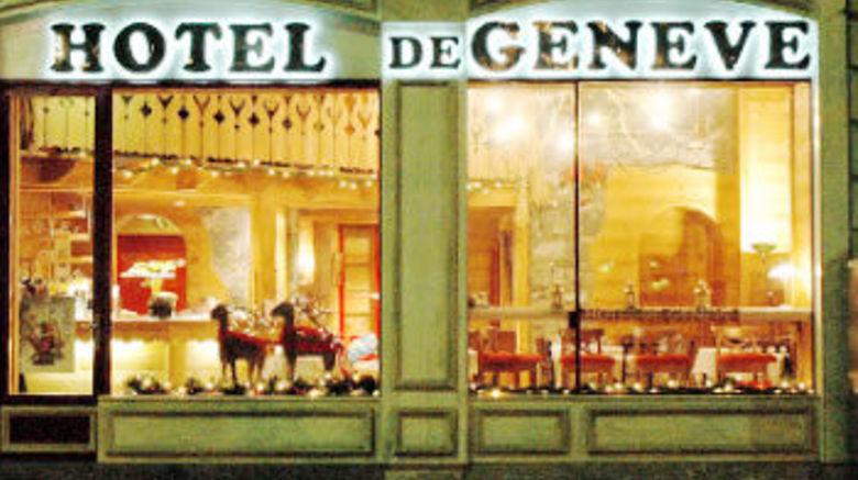 "Hotel de Geneve Exterior. Images powered by <a href=""http://www.leonardo.com"" target=""_blank"" rel=""noopener"">Leonardo</a>."