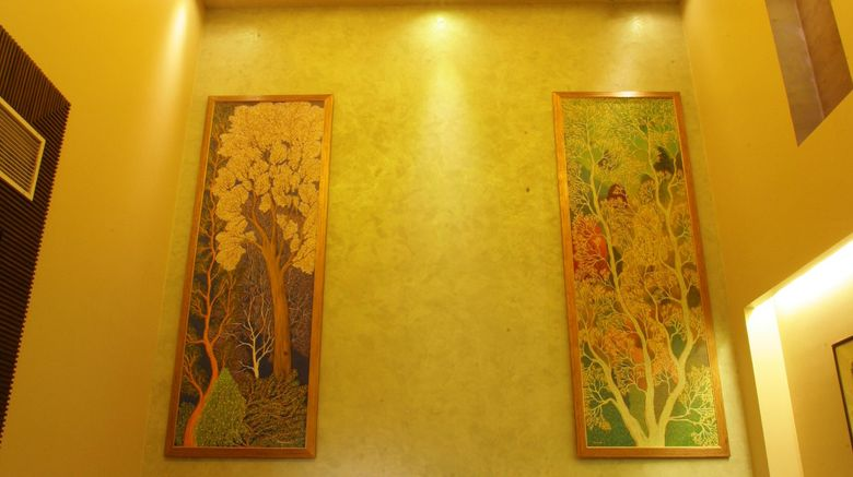 "juSTa - The Residence, Gurgaon Lobby. Images powered by <a href=""http://www.leonardo.com"" target=""_blank"" rel=""noopener"">Leonardo</a>."