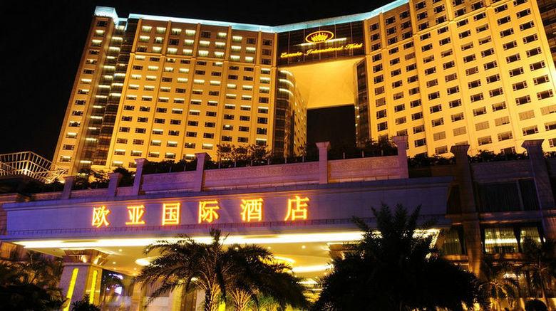 "Eurasia Intl Hotel Exterior. Images powered by <a href=""http://www.leonardo.com"" target=""_blank"" rel=""noopener"">Leonardo</a>."