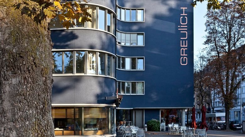 "Greulich Design Hotel Exterior. Images powered by <a href=""http://www.leonardo.com"" target=""_blank"" rel=""noopener"">Leonardo</a>."