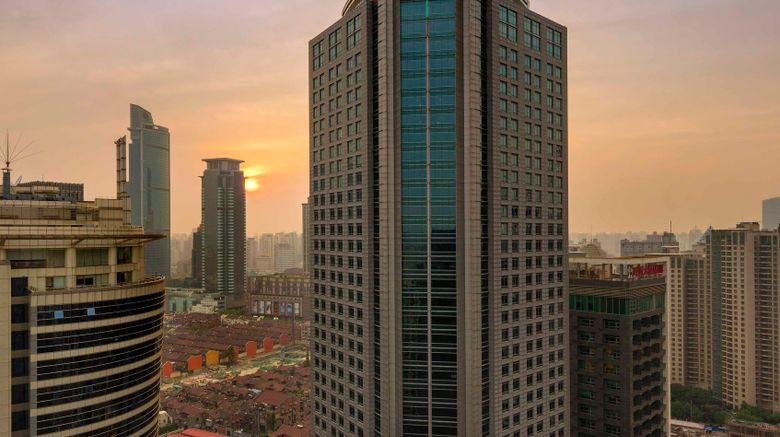 "Four Seasons Hotel Shanghai Exterior. Images powered by <a href=""http://www.leonardo.com"" target=""_blank"" rel=""noopener"">Leonardo</a>."