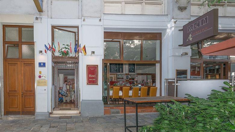 "Marc Aurel Hotel Exterior. Images powered by <a href=""http://www.leonardo.com"" target=""_blank"" rel=""noopener"">Leonardo</a>."