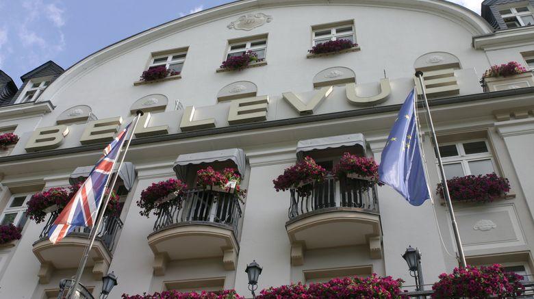 "Bellevue Rheinhotel Exterior. Images powered by <a href=""http://www.leonardo.com"" target=""_blank"" rel=""noopener"">Leonardo</a>."