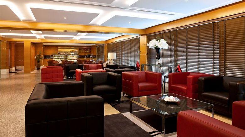 "Golden Sands Hotel Apartments Lobby. Images powered by <a href=""http://www.leonardo.com"" target=""_blank"" rel=""noopener"">Leonardo</a>."