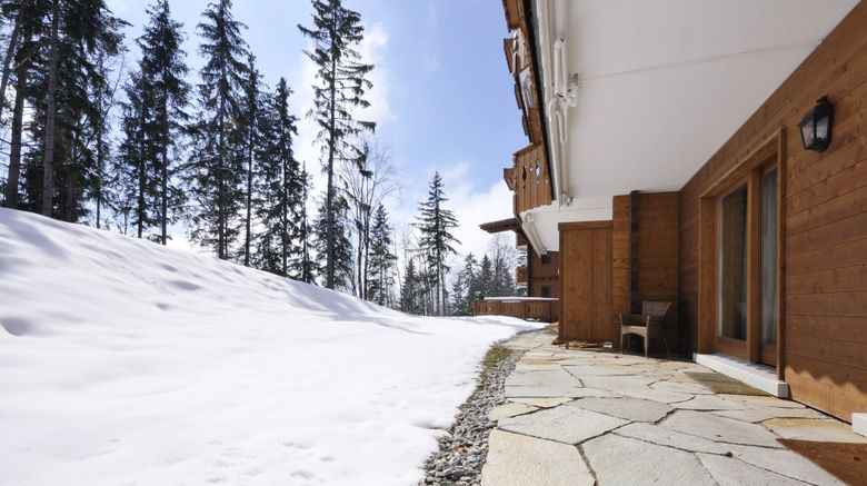 """Chalet RoyAlp Hotel  and  Spa Exterior. Images powered by <a href=""""http://www.leonardo.com"""" target=""""_blank"""" rel=""""noopener"""">Leonardo</a>."""