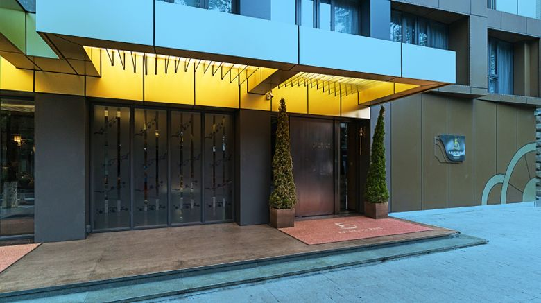 "LN Hotel Five Exterior. Images powered by <a href=""http://www.leonardo.com"" target=""_blank"" rel=""noopener"">Leonardo</a>."