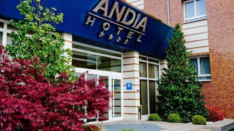 "Andia Hotel Exterior. Images powered by <a href=""http://www.leonardo.com"" target=""_blank"" rel=""noopener"">Leonardo</a>."