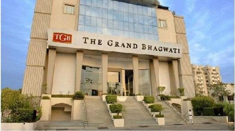 "The Grand Bhagwati Ahmedabad Exterior. Images powered by <a href=""http://www.leonardo.com"" target=""_blank"" rel=""noopener"">Leonardo</a>."