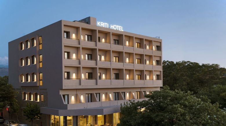 "Kriti Hotel Exterior. Images powered by <a href=""http://www.leonardo.com"" target=""_blank"" rel=""noopener"">Leonardo</a>."
