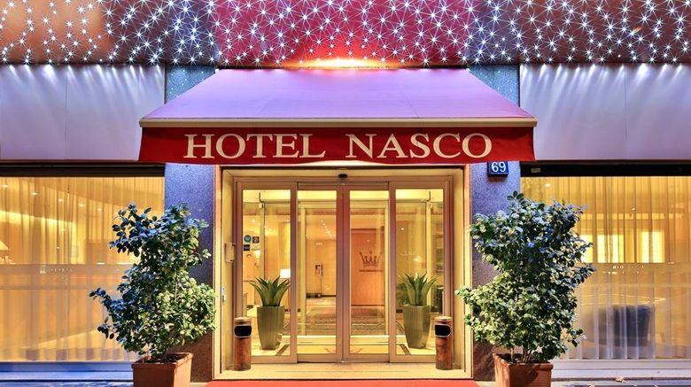 "Hotel Nasco Exterior. Images powered by <a href=""http://www.leonardo.com"" target=""_blank"" rel=""noopener"">Leonardo</a>."