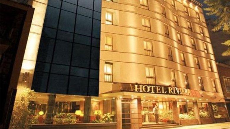 "Hotel Riviera Exterior. Images powered by <a href=""http://www.leonardo.com"" target=""_blank"" rel=""noopener"">Leonardo</a>."