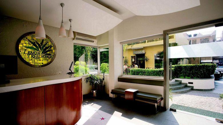 "Lemon Tree Hotel, Udyog Vihar Lobby. Images powered by <a href=""http://www.leonardo.com"" target=""_blank"" rel=""noopener"">Leonardo</a>."