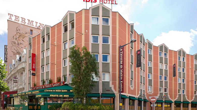 "Ibis Hotel St Etienne Gare Chateaucreux Exterior. Images powered by <a href=""http://www.leonardo.com"" target=""_blank"" rel=""noopener"">Leonardo</a>."