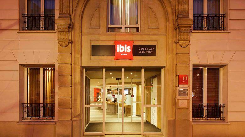 "Ibis Hotel Gare de Lyon Exterior. Images powered by <a href=""http://www.leonardo.com"" target=""_blank"" rel=""noopener"">Leonardo</a>."