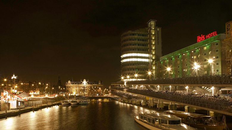 "Ibis Amsterdam Centre Exterior. Images powered by <a href=""http://www.leonardo.com"" target=""_blank"" rel=""noopener"">Leonardo</a>."