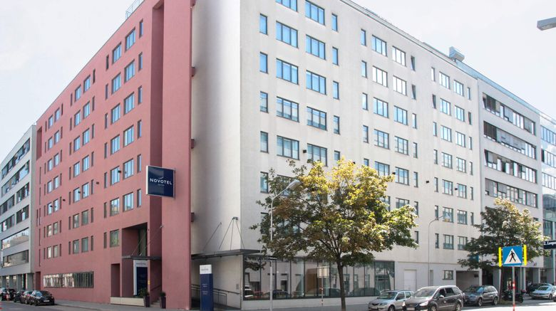 "Novotel Suites Wien City Donau Exterior. Images powered by <a href=""http://www.leonardo.com"" target=""_blank"" rel=""noopener"">Leonardo</a>."