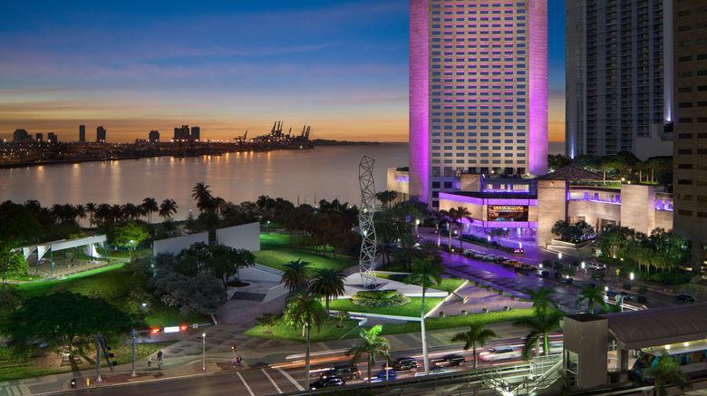 "InterContinental Miami Exterior. Images powered by <a href=""http://www.leonardo.com"" target=""_blank"" rel=""noopener"">Leonardo</a>."