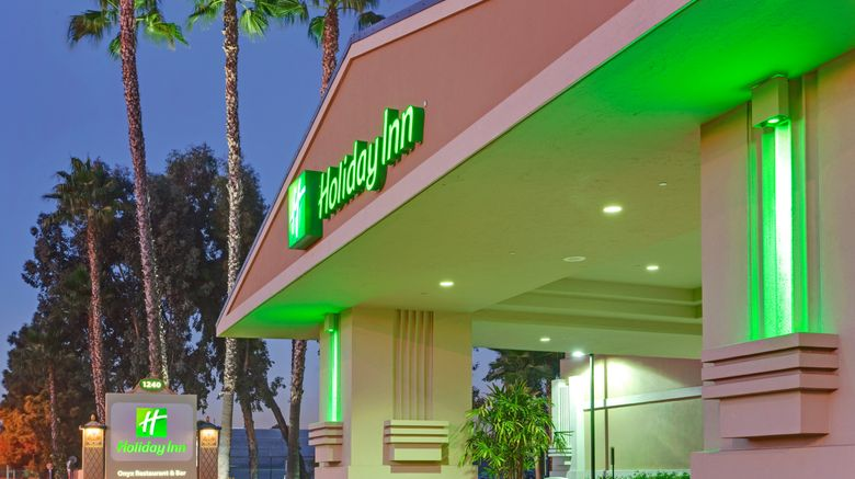 """Holiday Inn Hotel  and  Suites Anaheim Exterior. Images powered by <a href=""""http://www.leonardo.com"""" target=""""_blank"""" rel=""""noopener"""">Leonardo</a>."""