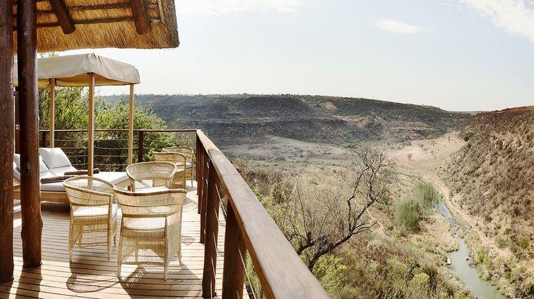 "Esiweni Luxury Safari Lodge Exterior. Images powered by <a href=""http://www.leonardo.com"" target=""_blank"" rel=""noopener"">Leonardo</a>."